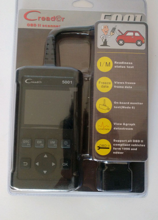 Автосканер Launch CReader 5001 obd2