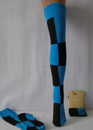 Яркие креативные чулки -ботфорты calzedonia италия  размер s/m...