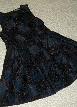 Очень красивое вечернее платье 6-7 лет