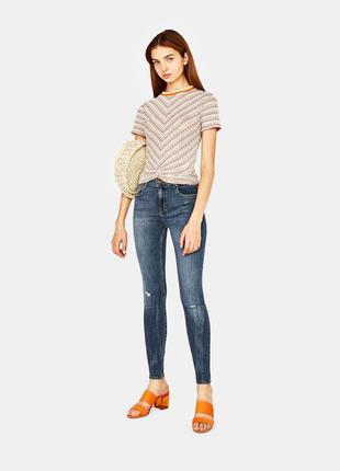 Распродажа! стильные женские джинсы  bershka испания