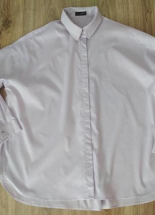 Сиреневая рубашка оверсайз от cinque