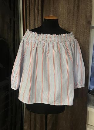 Полосатая блуза primark