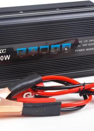 Автомобильный преобразователь напряжения(инвертор) UKC 12-220V...