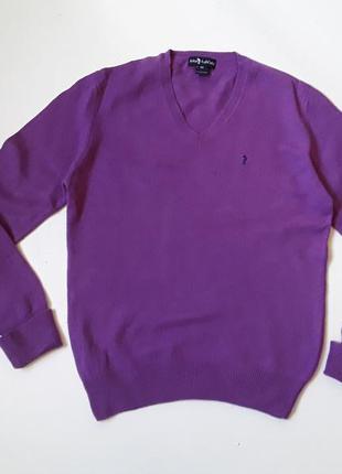 Шерстяной свитер  полувер