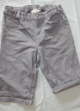 H&m шорты джинсовые модные на мальчика 13-14 лет