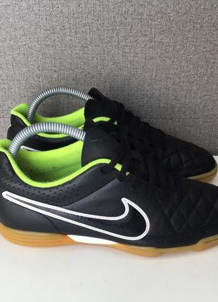 Футзалки nike tiempo бампы залки футбольная обувь кроссовки