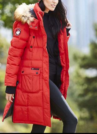 Канадская зимняя женская парка - куртка Canada. Новая. Размер XL.