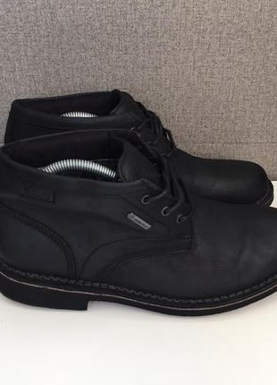 Чоловічі черевики clarks gore-tex мужские ботинки сапоги оригинал