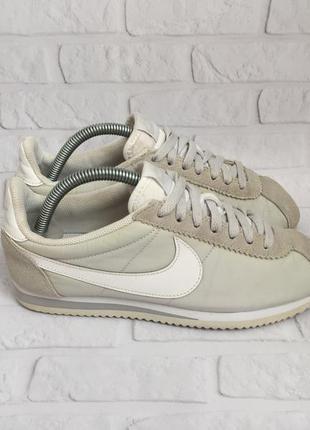 Жіночі кросівки nike classic cortez nylon женские кроссовки ор...