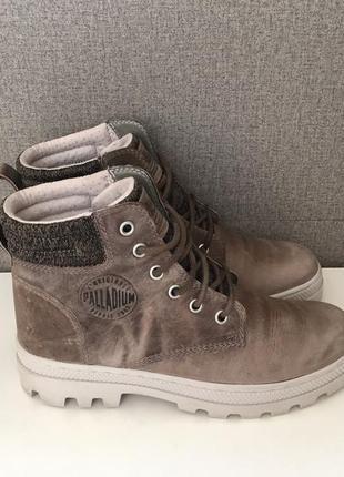 Жіночі черевики palladium pallabosse hi cuff женские ботинки с...