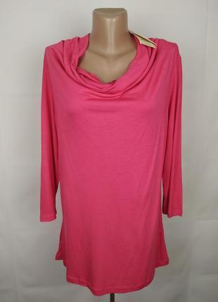 Блуза кофточка новая натуральная шикарная большого размера mon...