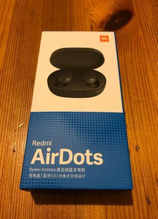Наушники беспроводные Xiaomi Redmi Airdots Bluetooth 5.0 Original