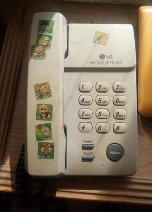Продам стационарный телефон lg