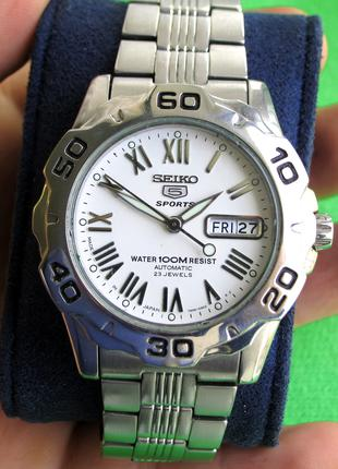 Механические наручные часы SEIKO 5 Sports. Автоподзавод. 23 камня