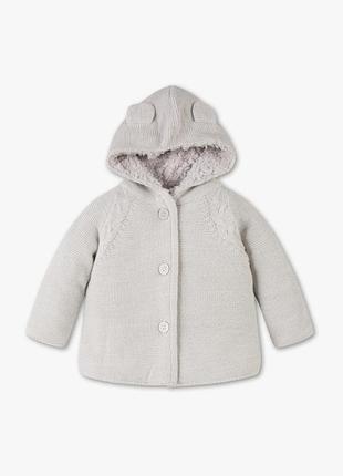 Кофта меховушка пальто худи для девочки  palomino