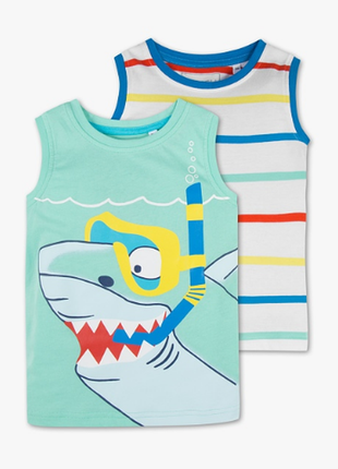 Palomino майка маечка комплект 2шт футболка для мальчика