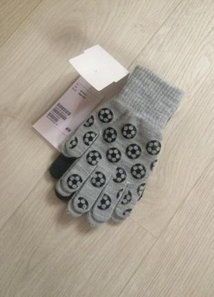 Перчатки варежки футбол h&m