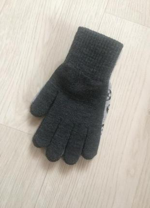 Перчатки варежки h&m
