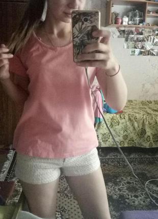 #розвантажуюсь футболка, базовая футболка, розовая футболка