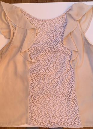 Блуза, блузка с кружевом, блуза со вставками, блуза с бантом, ...