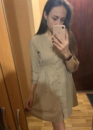 #розвантажуюсь платье, платье-рубашка, хлопковое платье