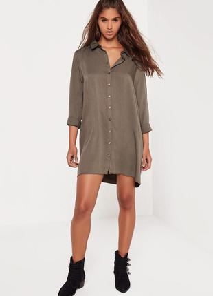 Оверсайз платье-рубашка missguided ms998