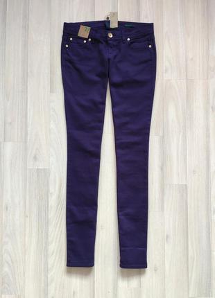 Жіночі фіолетові джинси розмір 27 джинсы 27 размер