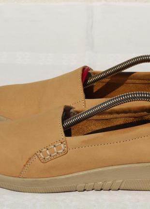 Шикарные кожаные мокасины, туфли, топсайдеры , лоферы remonte