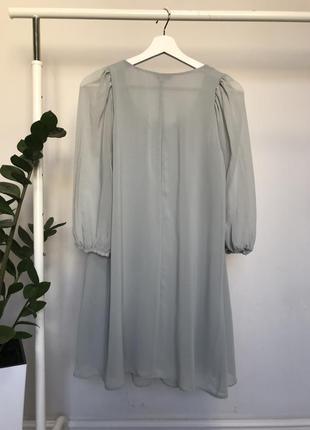 Платье шифоновое new look