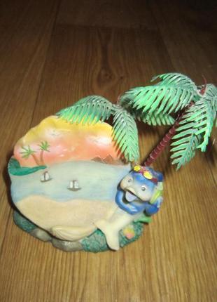 Статуэтка, подставка под мобильный телефон, керамика