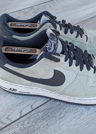 Nike air force 1 мужские замшевые кроссовки оригинал