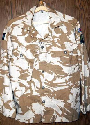 Камуфляжная куртка британской армии Tropical Jacket Combat