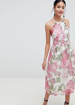 Нарядное кружевное платье принцессы asos