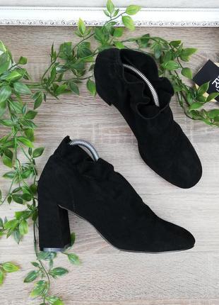 🌿40🌿европа🇪🇺 ideal shols. фирменные ботинки на устойчивом каблуке