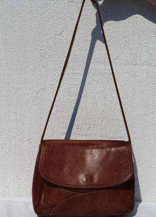 Кожаная сумка  почтальйонка bags  c.osualefa