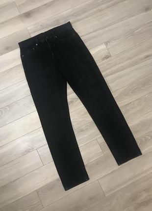 Супер чёрные джинсы