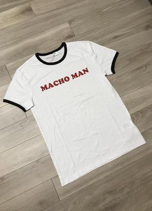 Супер футболка macho man оригинал