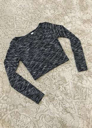Блуза блузка с вырезом h&m