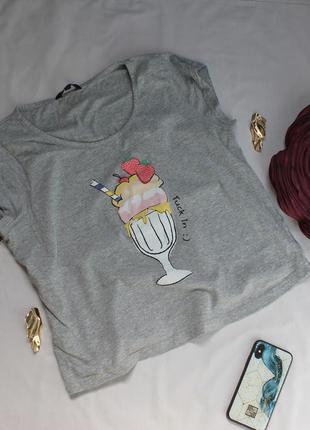 Милая футболка с мороженым