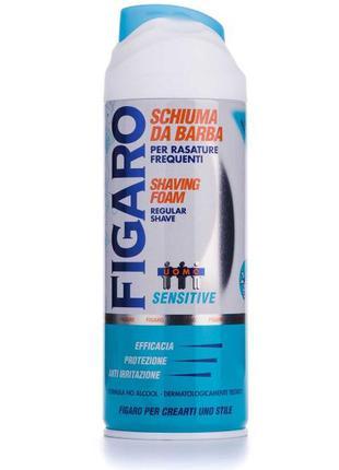 Пена для бритья figaro для чувствительной кожи