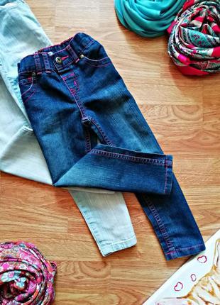Детские мягкие легкие комфортные джинсы f&f - девочка - 4-5 лет