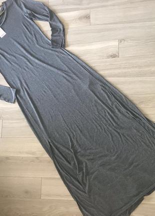 Платье длинное оригинал h&m