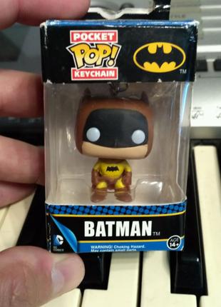 Бетмен брелок Funko pop DC Comics