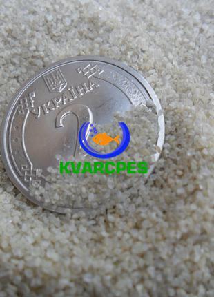 Песок кварцевый,фр.0,4-0,8