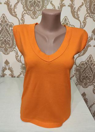 Оранжевая майка