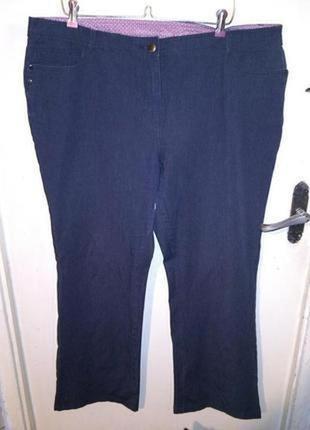 Супер стрейч,серые джинсы,брюки,большого размера,main new engl...
