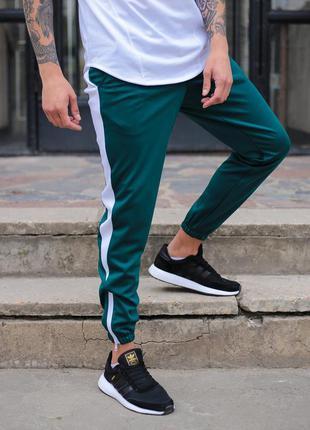 Спортивные штаны тур rocky green-white