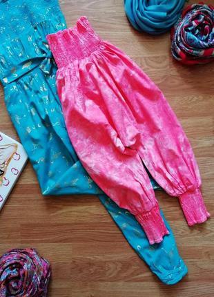 Детские необычные хлопковые штаны - бриджи алладины name it - ...