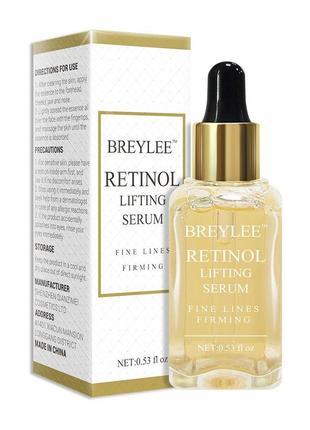 Сыворотка серум breylee retinol lifting firming с витамином а