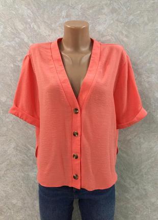 Блуза на пуговицах new look